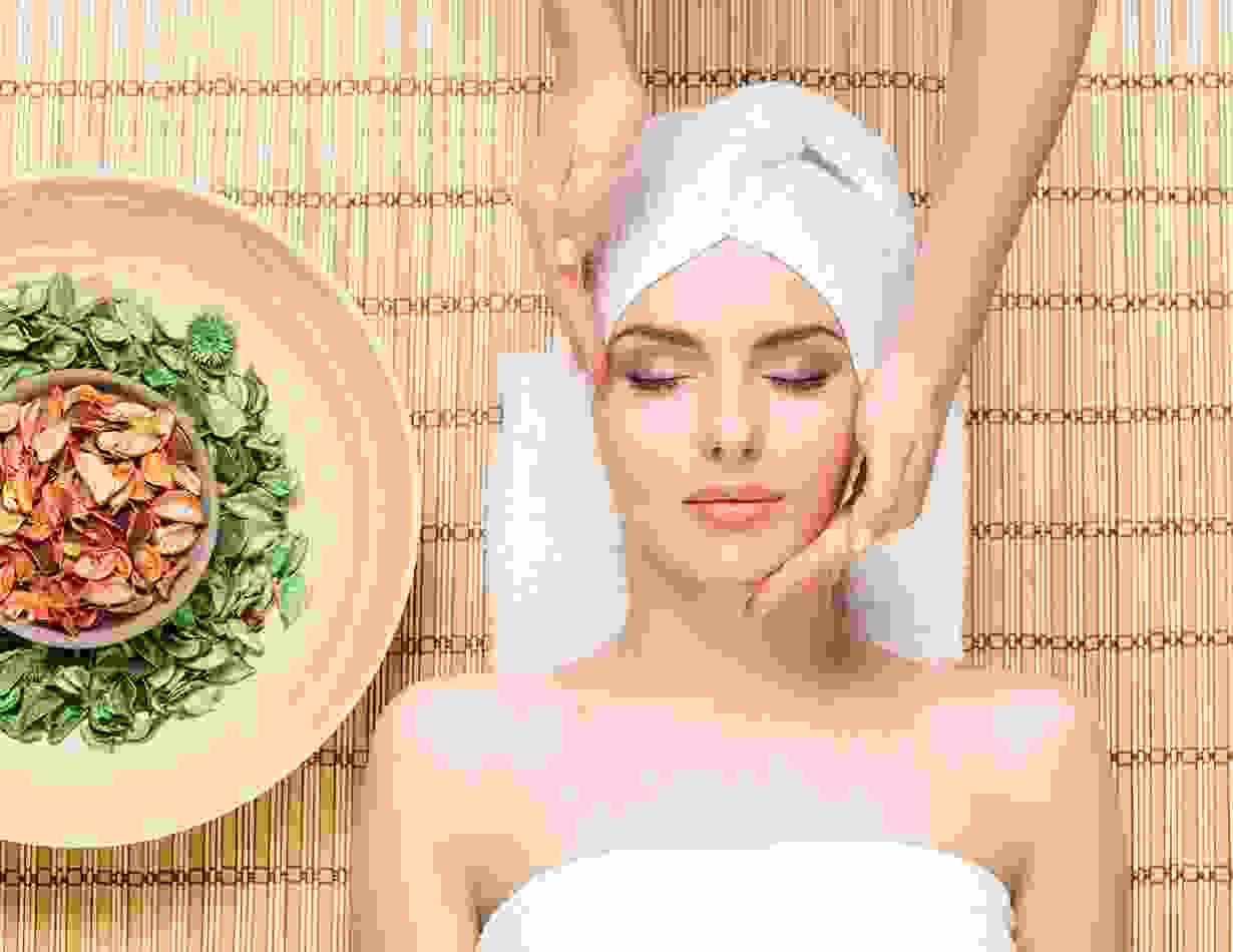 Cream massage